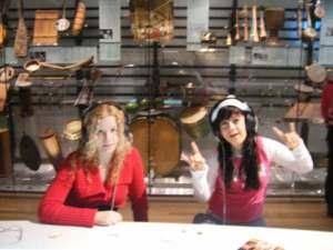 sra y silvia, museo d nstrumntos musikales